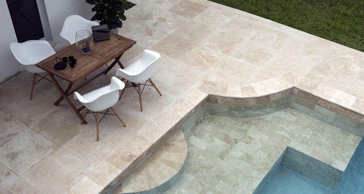 terrazas de diseño de piedra natural